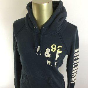 ABERCROMBIE & FITCH Graphic Logo Pullover Dark